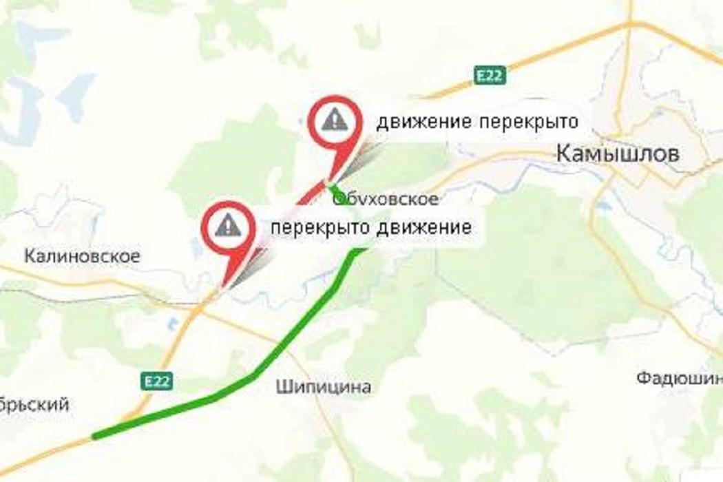 До 5 сентября перекроют часть трассы «Екатеринбург-Тюмень» из-за ремонта мостов