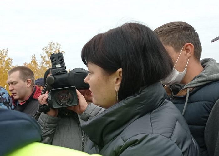 Курганцы потребовали вернуть поворот с федеральной трассы на Зайково