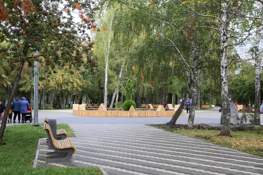 В Нижнем Тагиле открыли реконструированный сквер за ДК «Юбилейный»