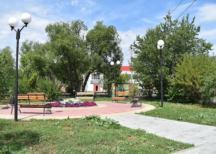 В Петухово установят ограждение Центрального парка