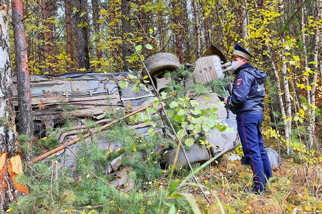 В ДТП на трассе под Качканаром погиб водитель BMW 530i