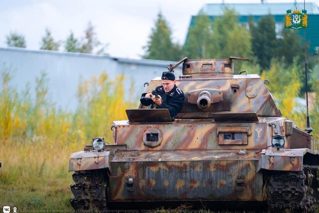 В Ханты-Мансийске прошёл военно-исторический фестиваль