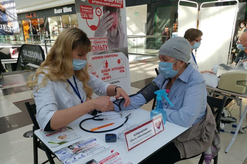 Около 150 тюменцев проверили здоровье своего сердца 1