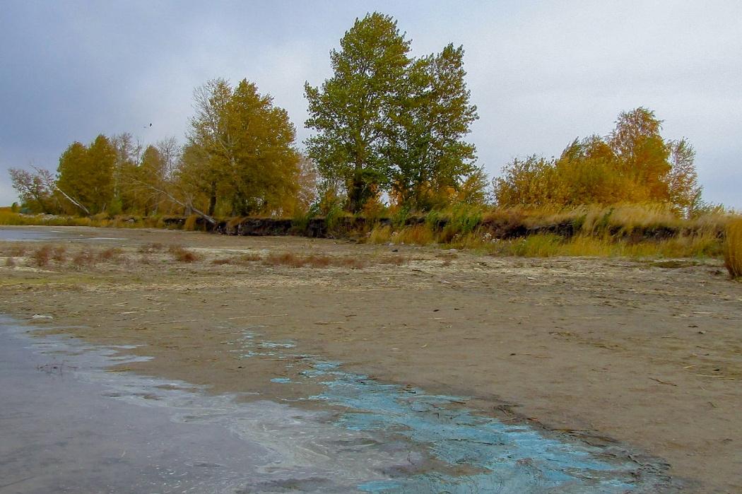 Экологи объяснили появление голубой пены на озере Смолино в Челябинске