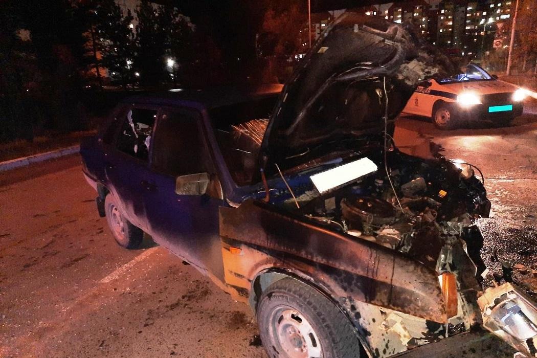 Под Нижневартовском пьяный водитель «ВАЗа» устроил лобовое ДТП