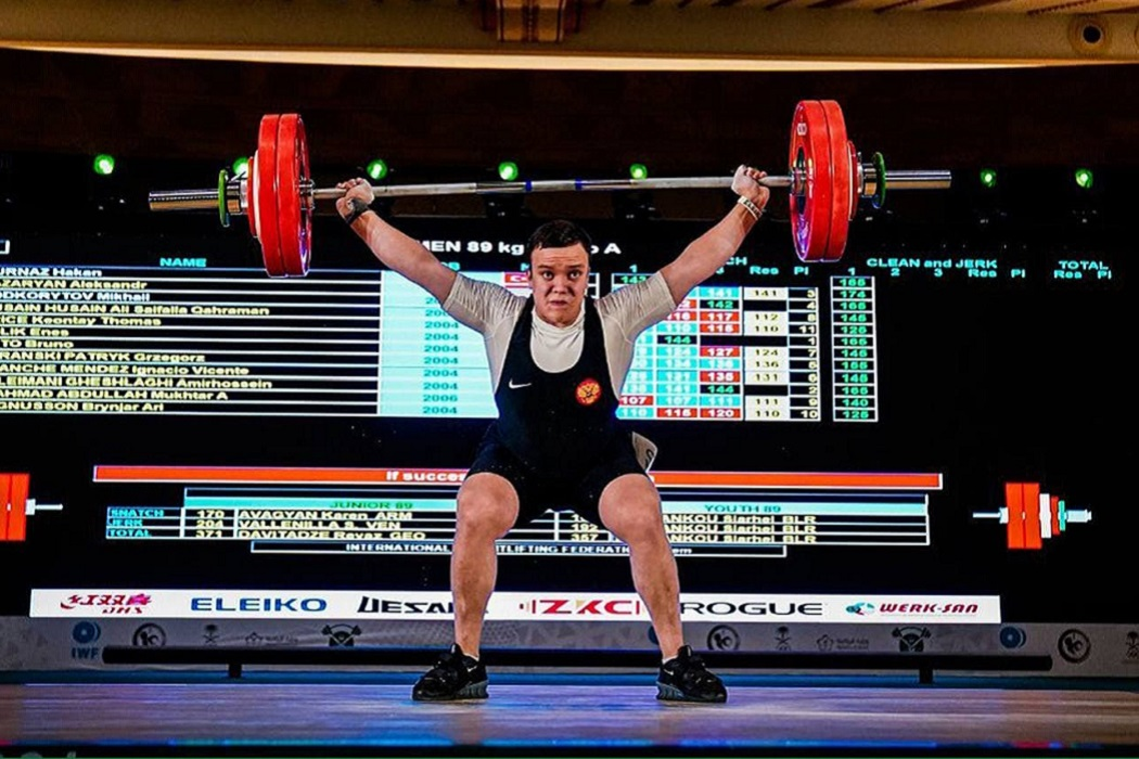 Тяжёлая атлетика + спортсмен + спорт + атлетика
