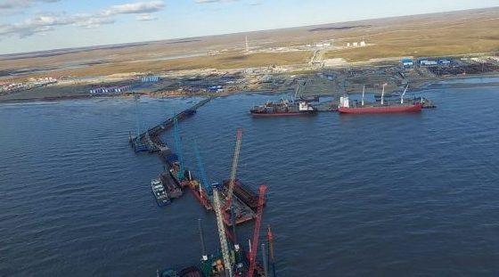 В Тазовском районе при строительстве причала погиб рабочий 2