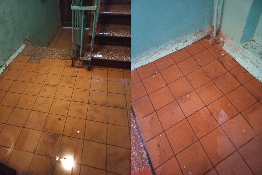 В Тюмени многоквартирный дом залило водой 2