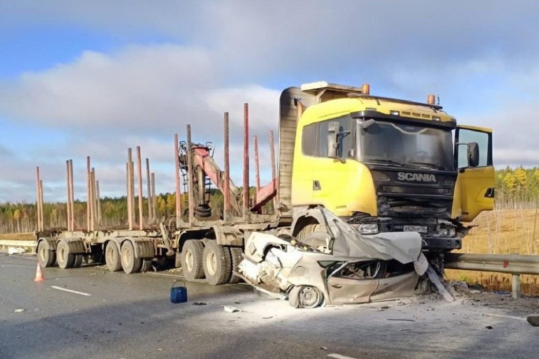 В Югре в ДТП с грузовиком погиб вахтовик из Перми