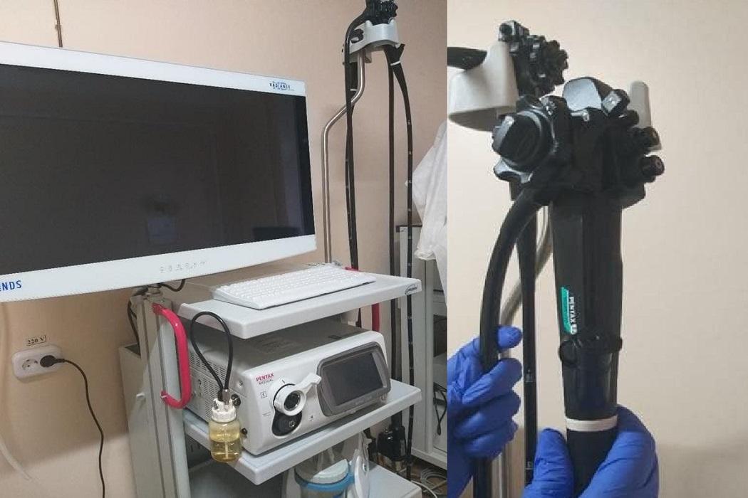 В больнице Увата появилось новое эндоскопическое оборудование
