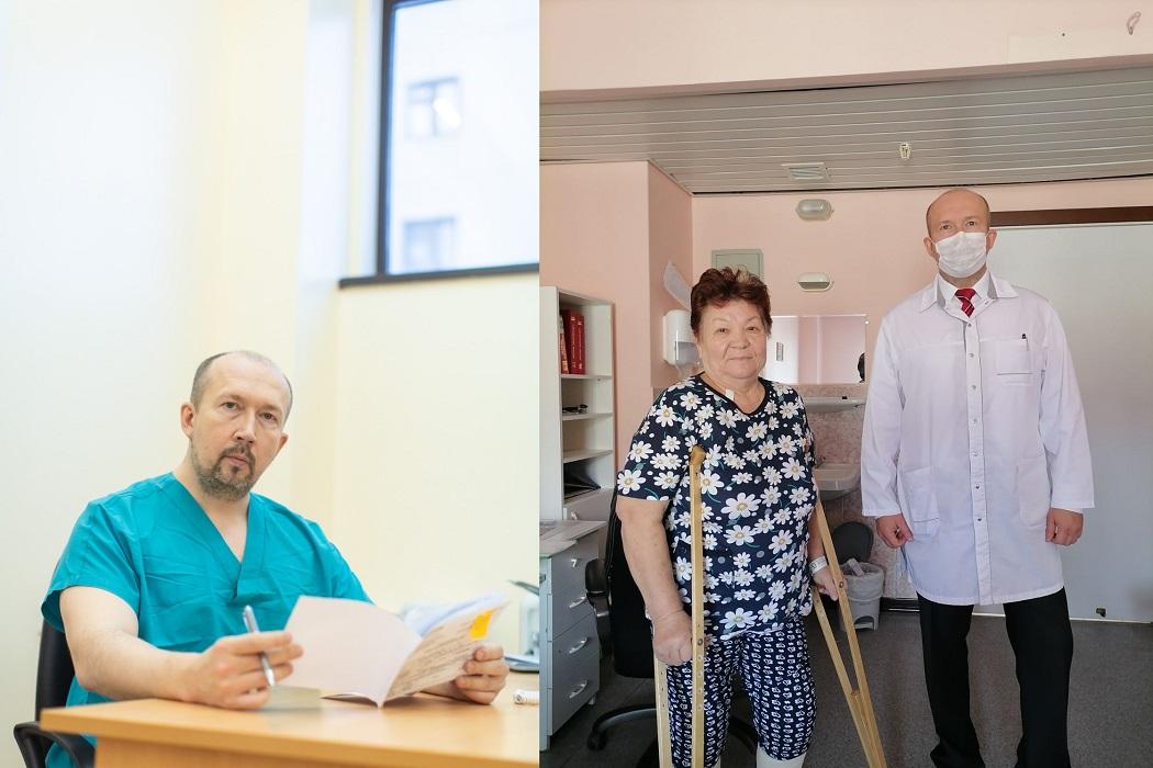 Врачи Тюмени помогли пациентке с травмой колена быстро встать на ноги