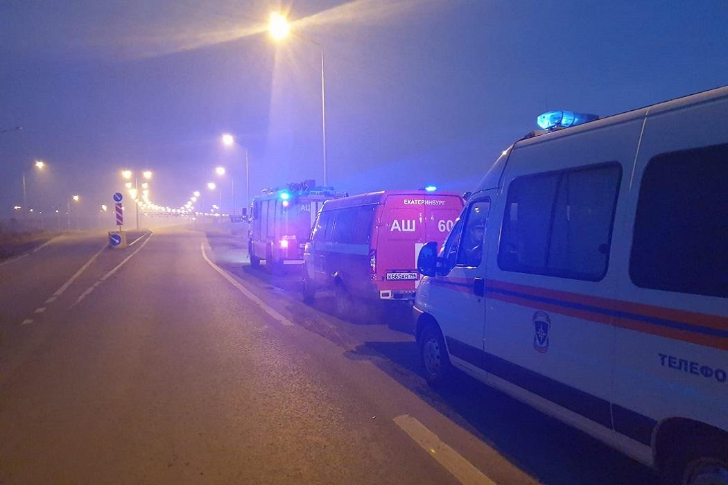 Едкий дым накрыл Екатеринбург из-за тлеющих торфяников в Солнечном
