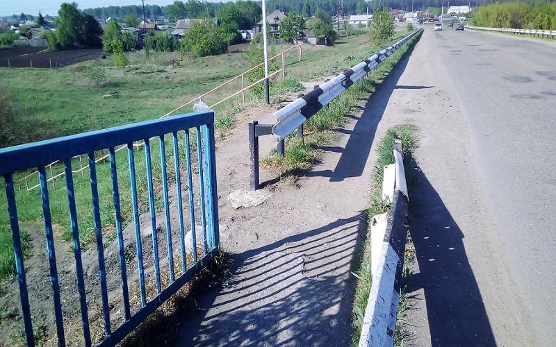 Зауральцы пожаловались на небезопасный мост через Исеть