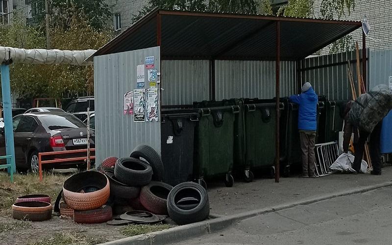 Власти Кургана забыли организовать переработку выброшенных автошин