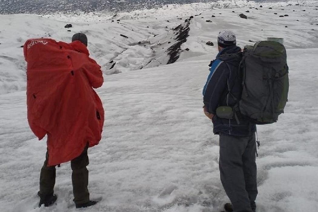На Ключевском вулкане продолжаются поиски пропавшего свердловского альпиниста
