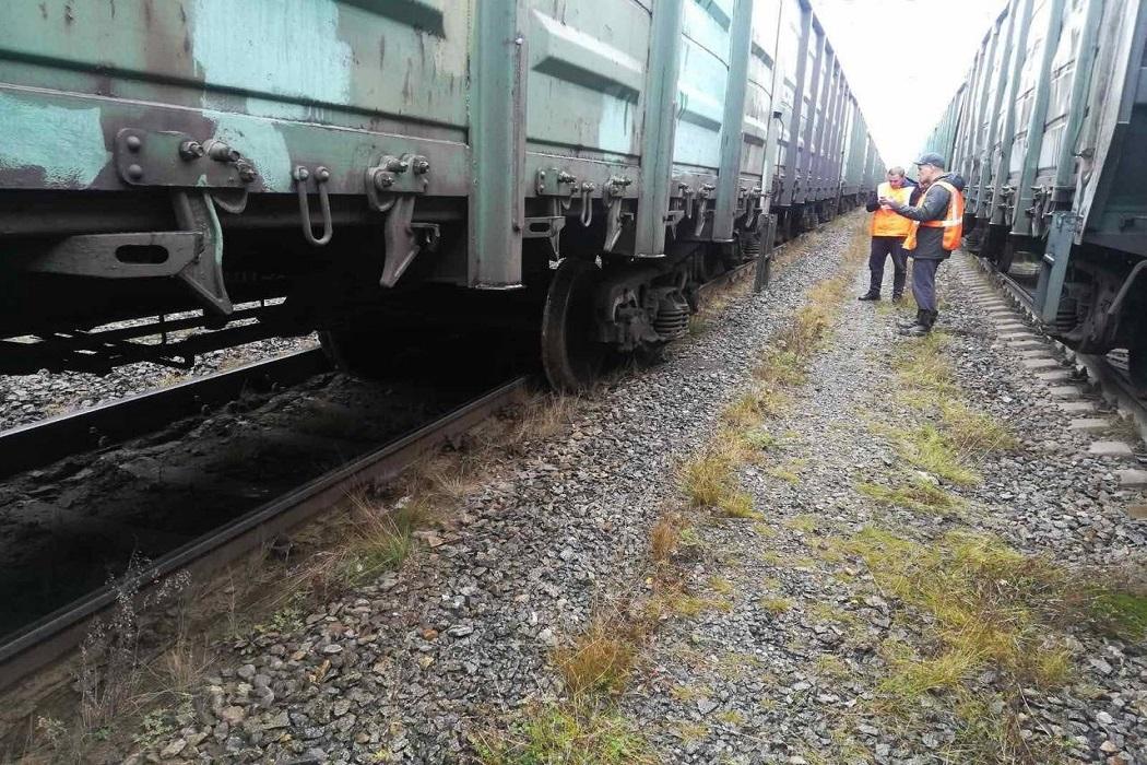 Челябинской области с рельс сошли 5 грузовых вагонов