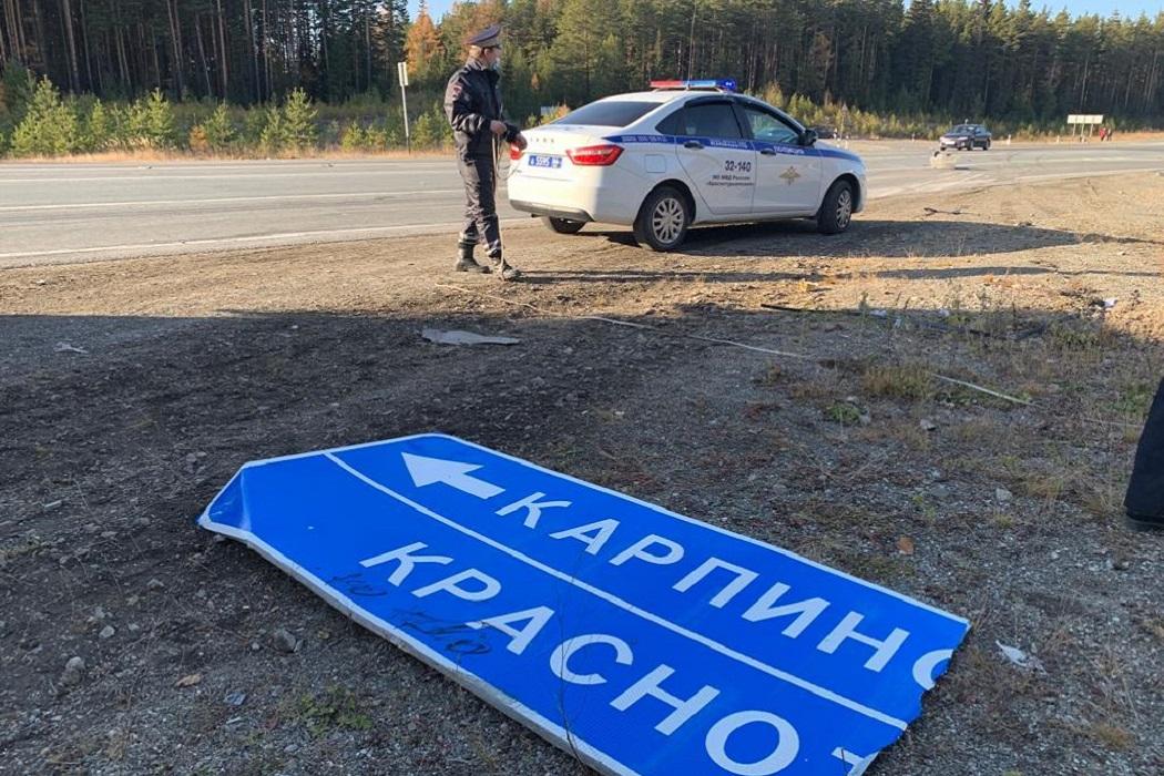 Супружеская пара погибла в ДТП с грузовиком и Honda под Карпинском