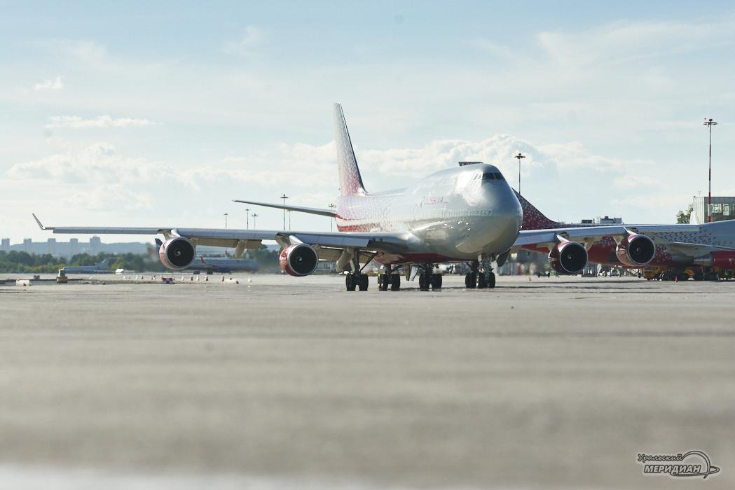 Аэропорт Кольцово самолет Россия