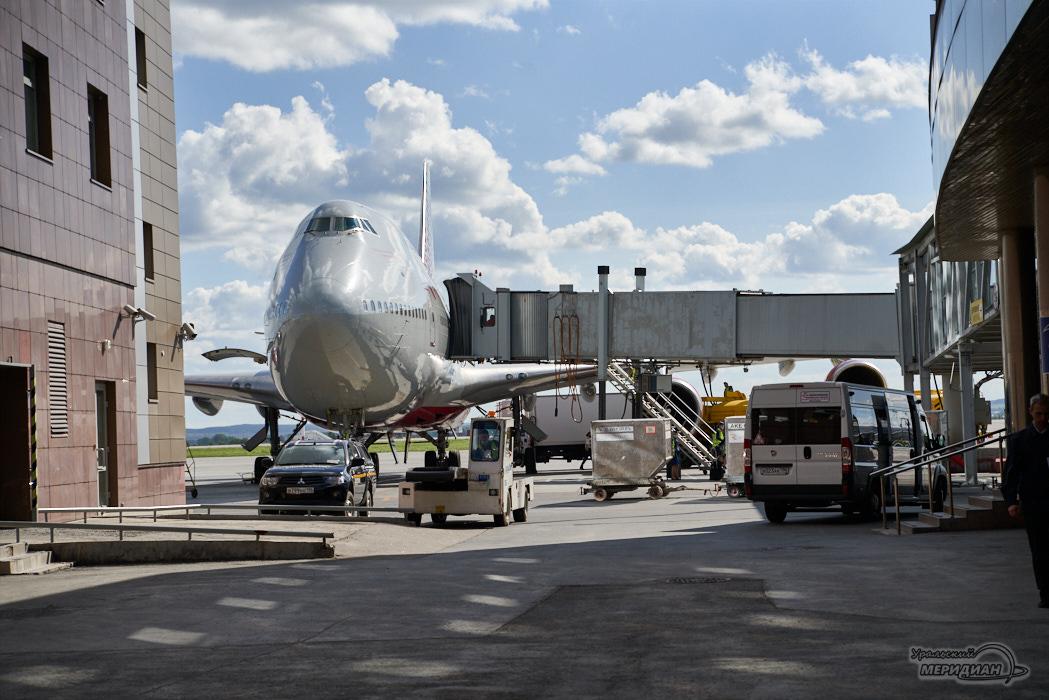Аэропорт Кольцово самолет