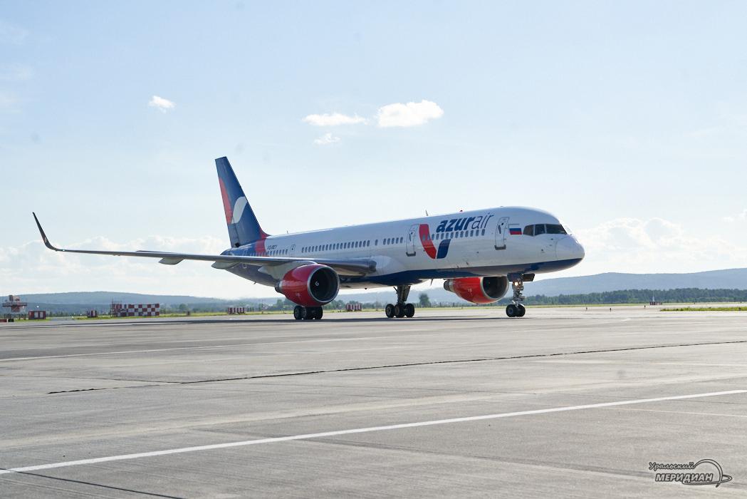 Аэропорт самолет Азур