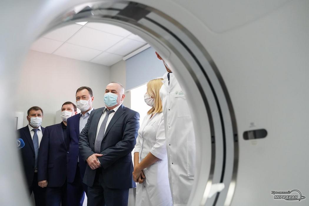 В свердловской ОДКБ открыли новый кабинет КТ