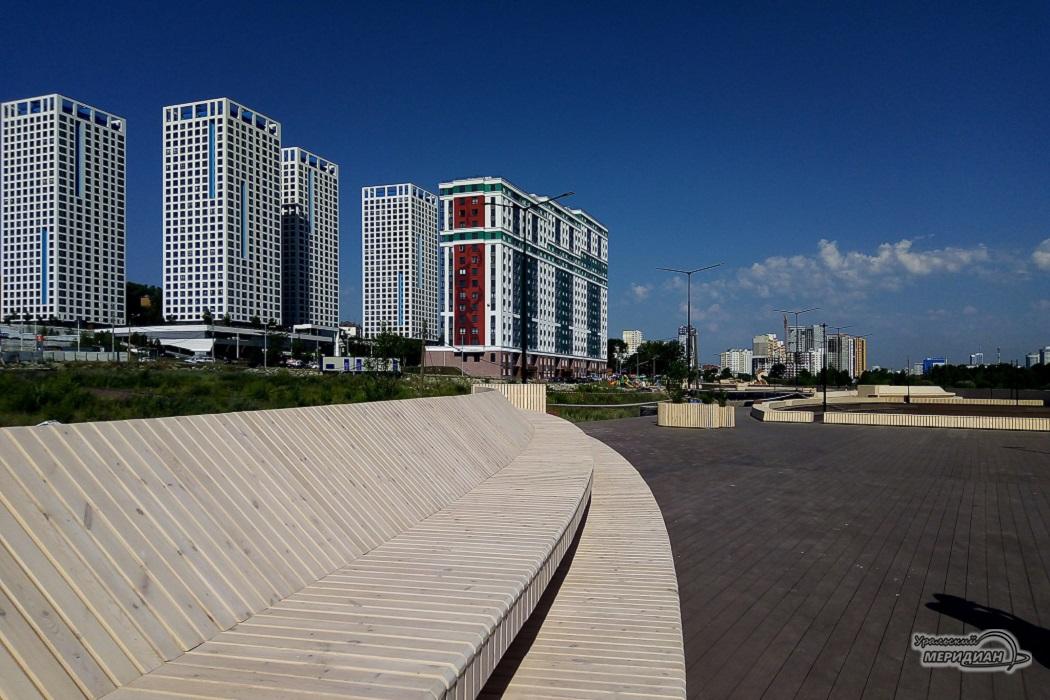 Екатеринбург Набережная Исеть