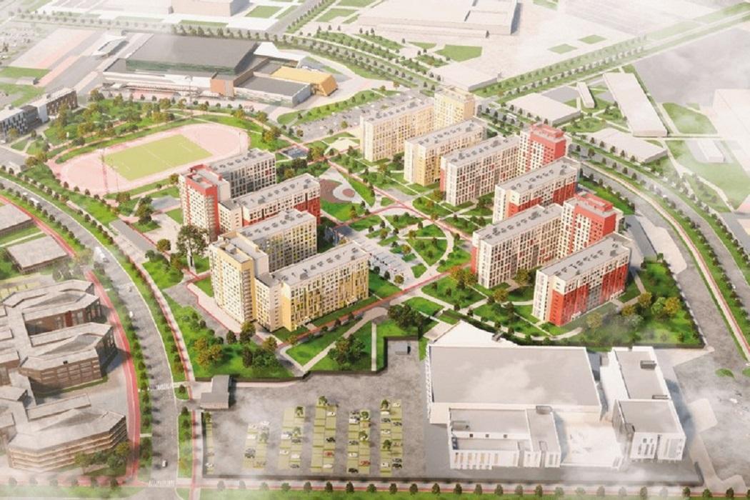 Эскизный проект деревни Универсиады-2023