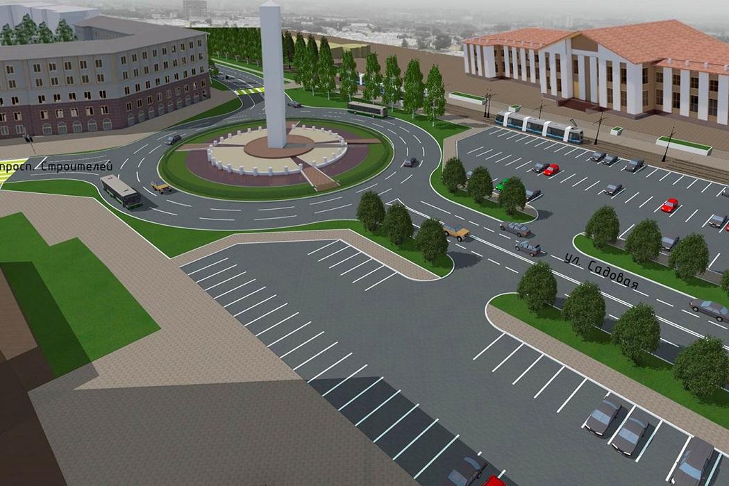 Эскиз стелы Город трудой доблести в Нижнем Тагиле