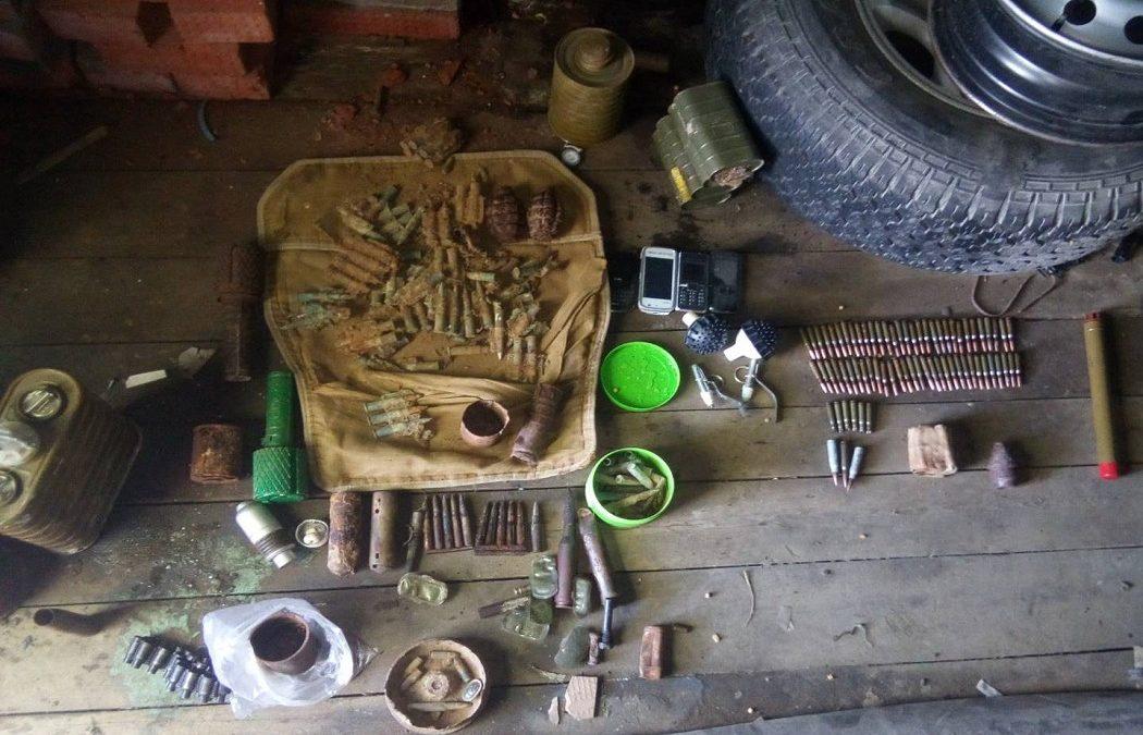 В Югре задержан подозреваемый в незаконном хранении боеприпасов