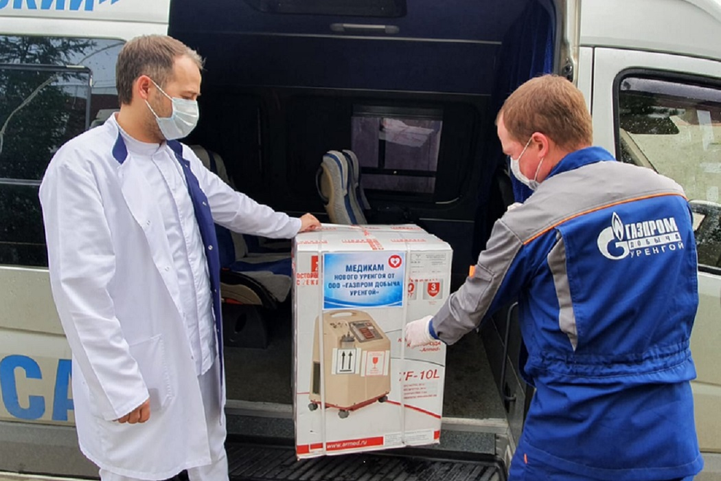 Компании ТЭК продолжают помогать больницам Ямала бороться с пандемией