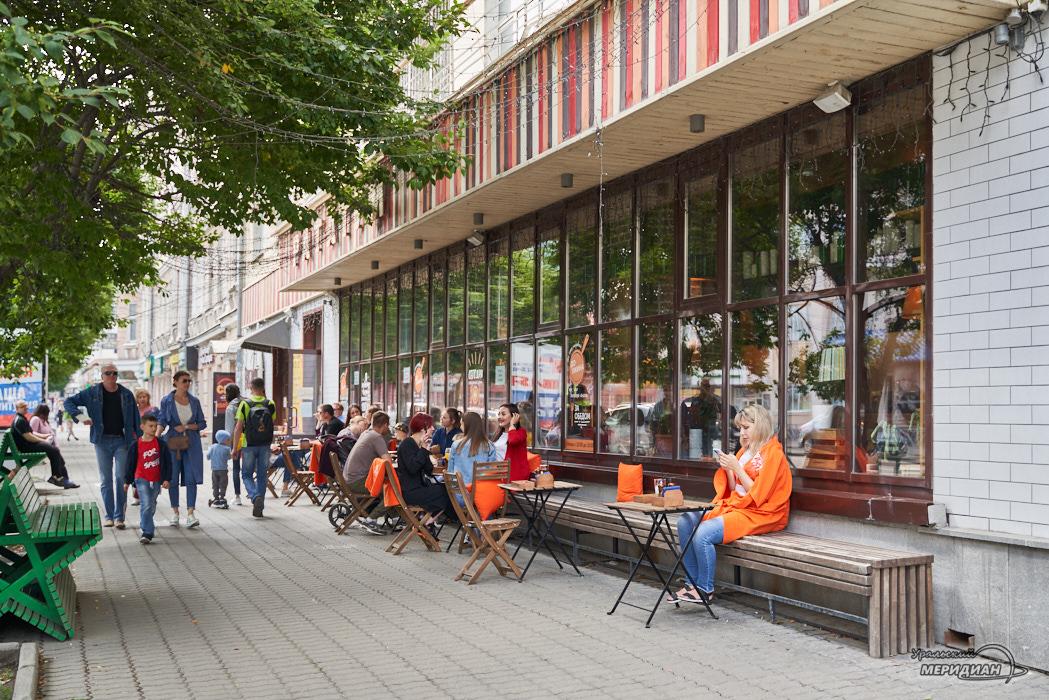 Letnee kafe Ekaterinburg 2
