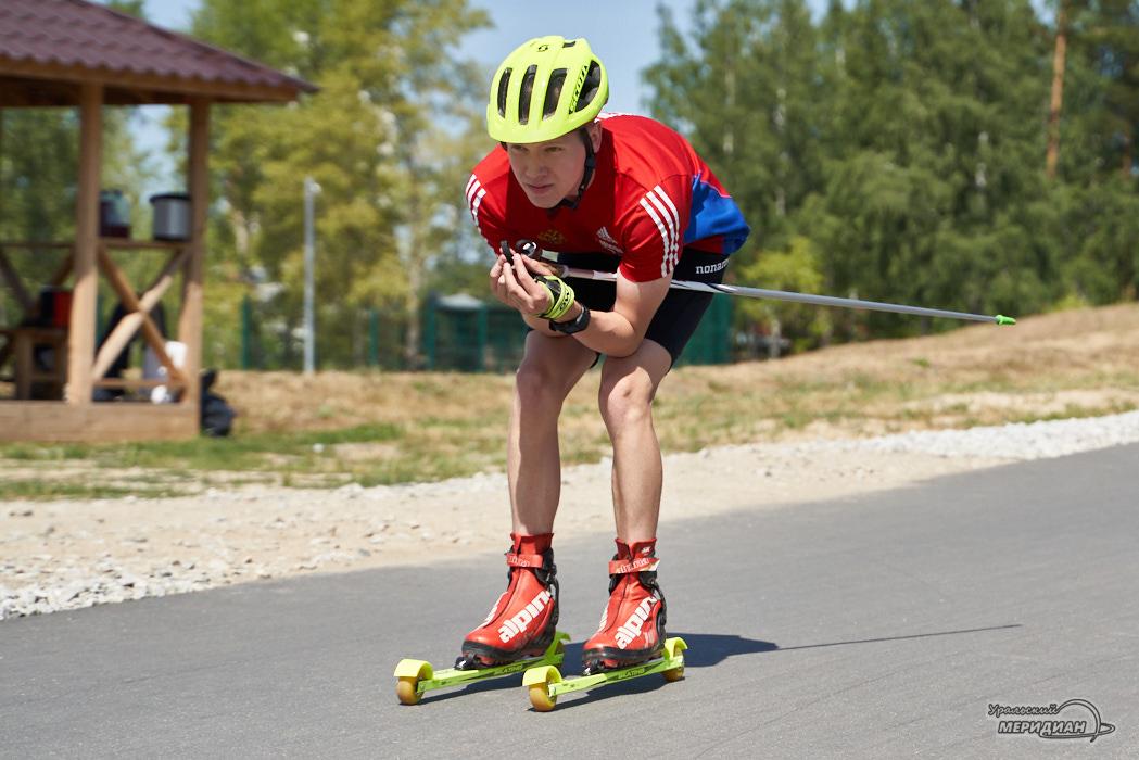 Lyzherollernaya trassa Kalininec Ordzhonikidzevskij rajon Ekaterinburg sport lyzhnya roller 9