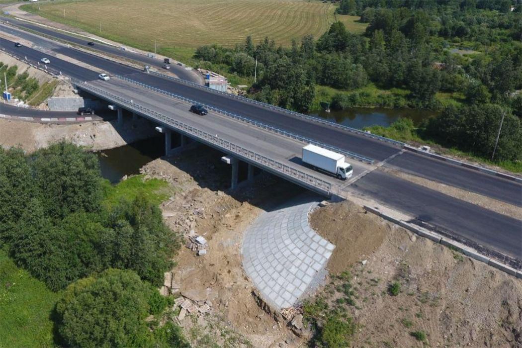 Закончен ремонт на трассе М5