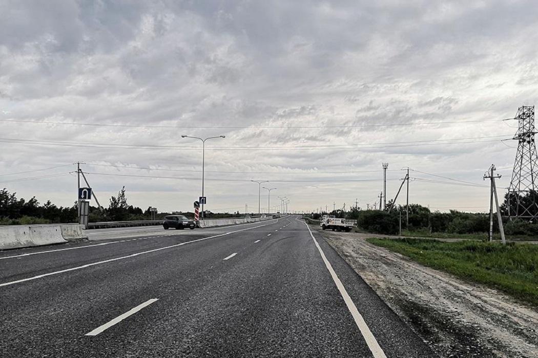 На тюменской объездной отремонтировали загруженный участок дороги