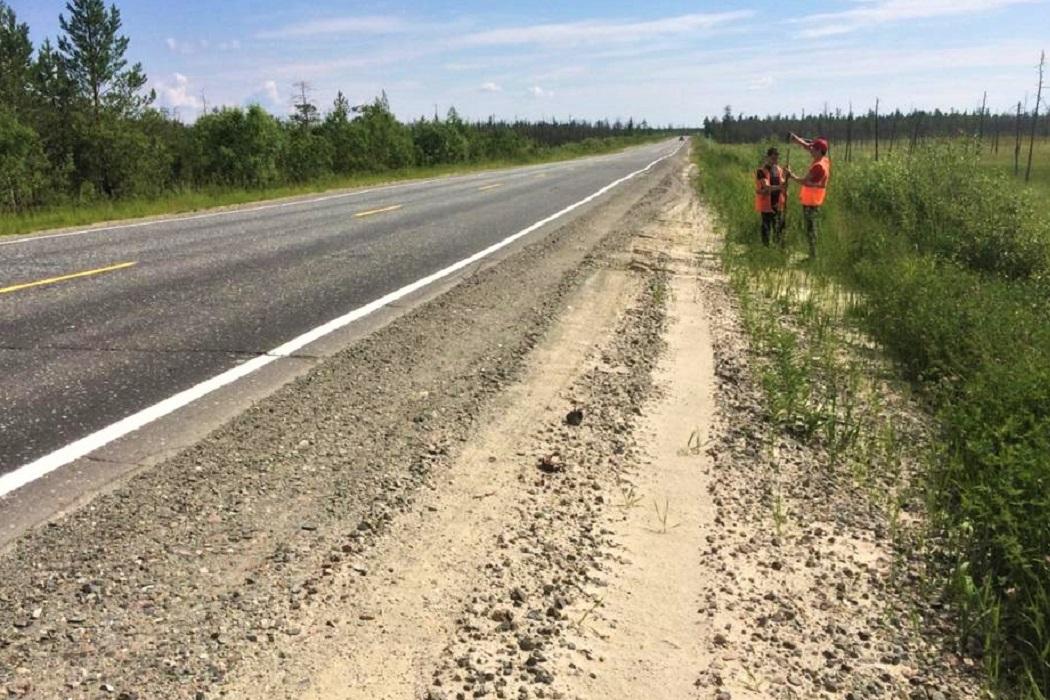 Начался капремонт дорог от границы Ямала и на подъезде к Ноябрьску