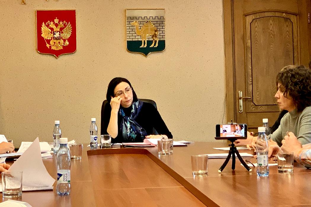 Наталья Котова, мэр Челябинска