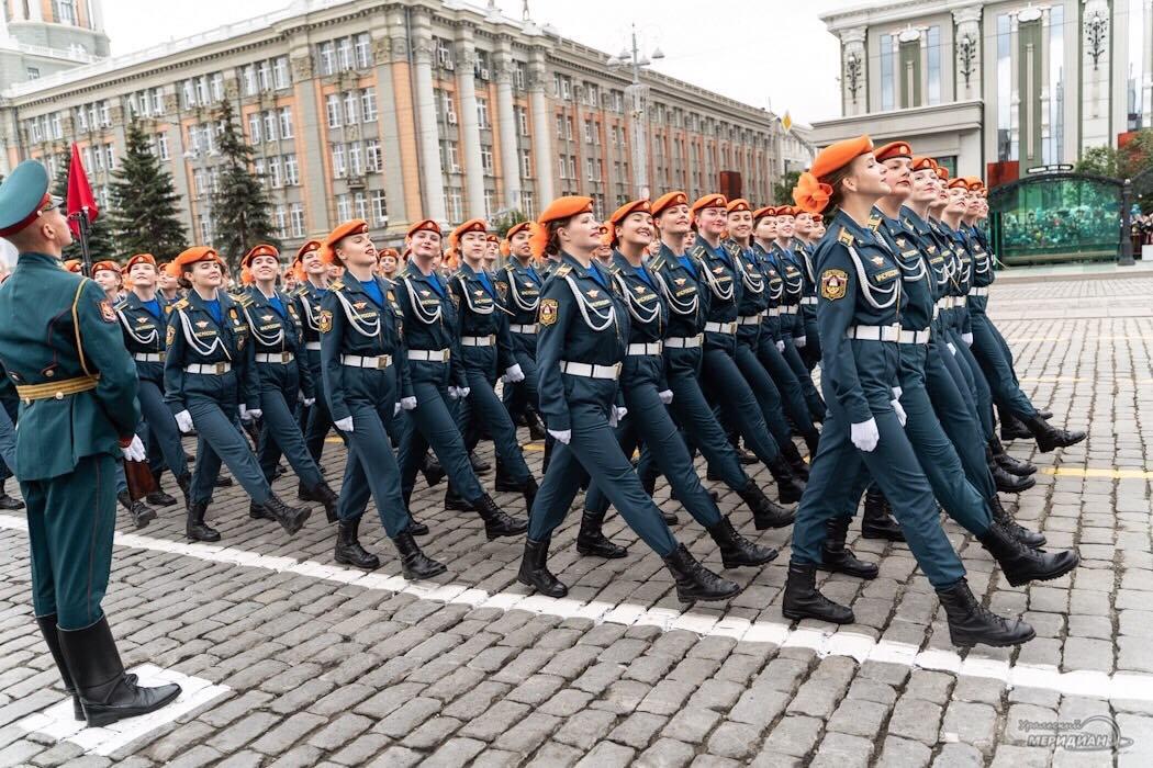 Парад ЦВО Екатеринбург