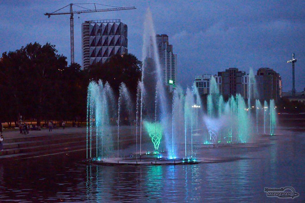 С 1 октября в Екатеринбурге отключили все городские фонтаны