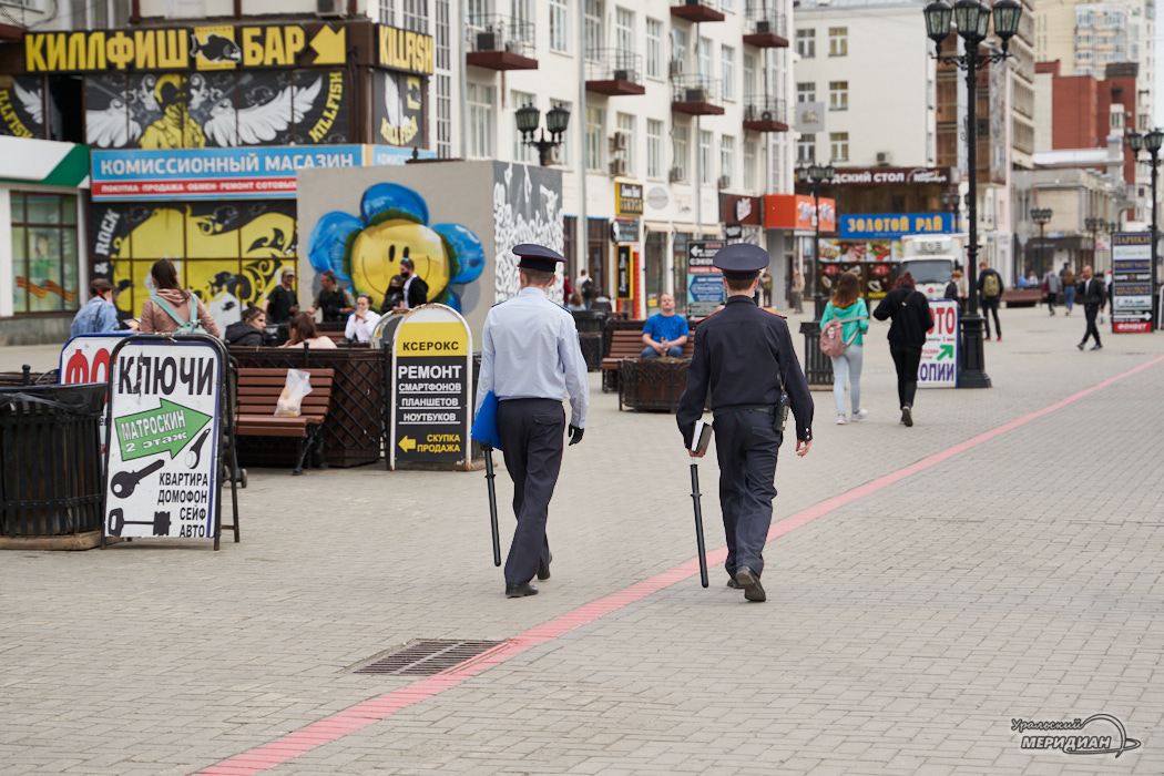 Полиция МВД карантин рейд Екатеринбург Вайнера