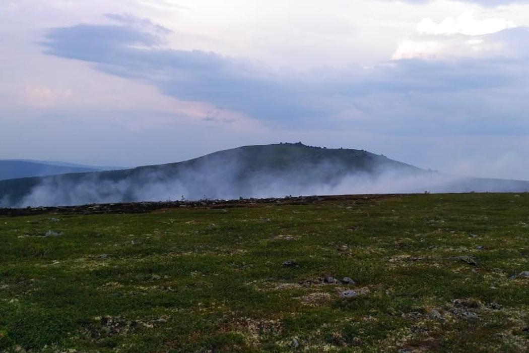 Пожар на перевале Дятлова уральская авиабаза