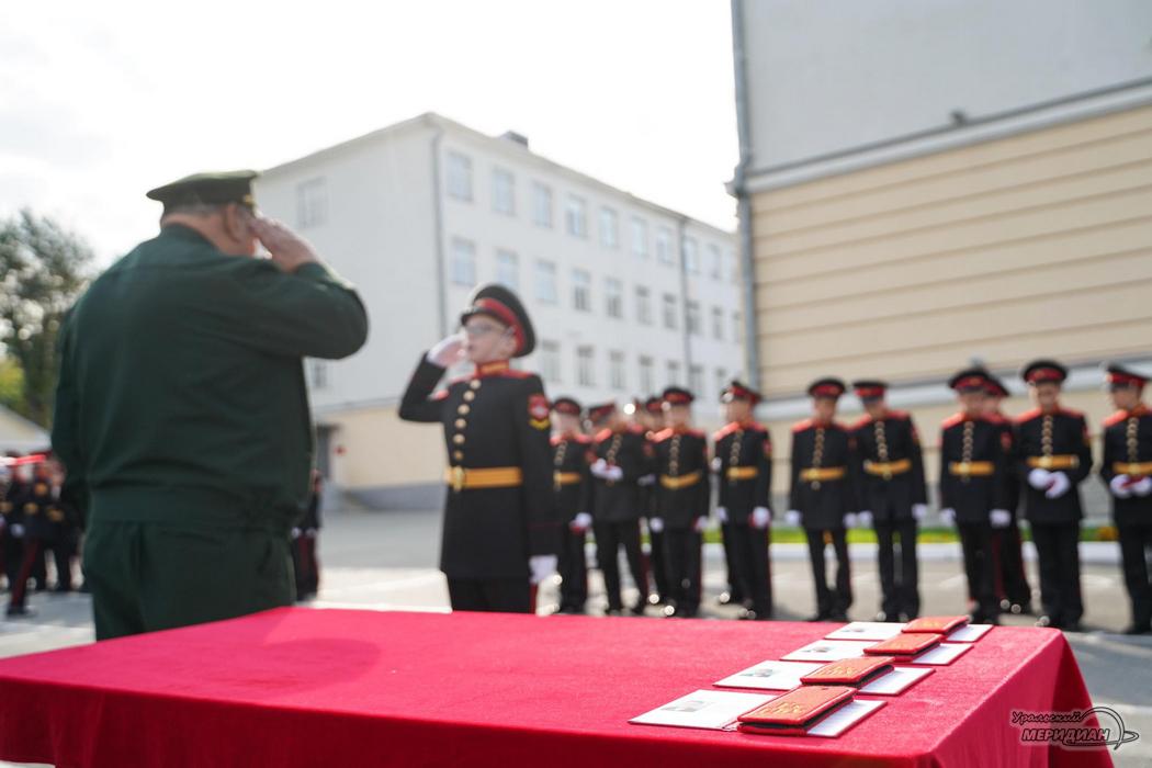 СВУ Суворовское училище ЦВО 1 сентября 2020