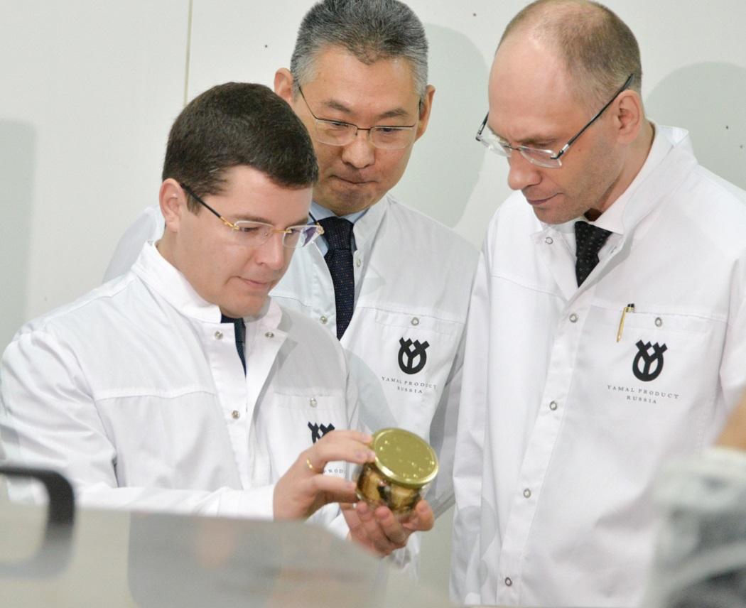 Салехардский комбинат наращивает производственные мощности
