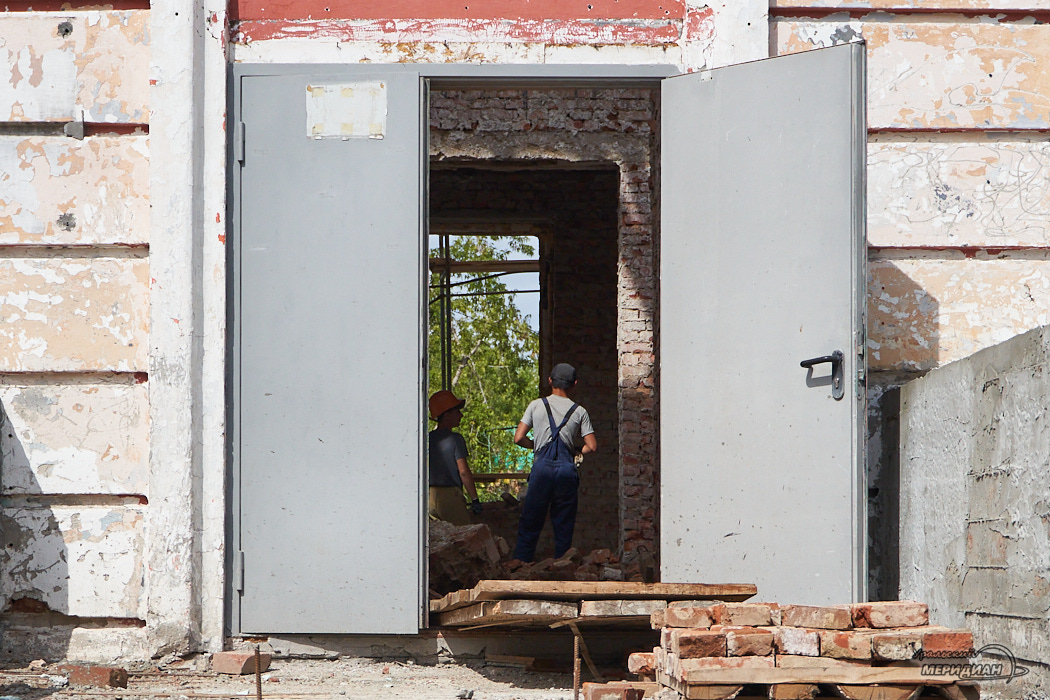 Школа 25 ремонт стройка