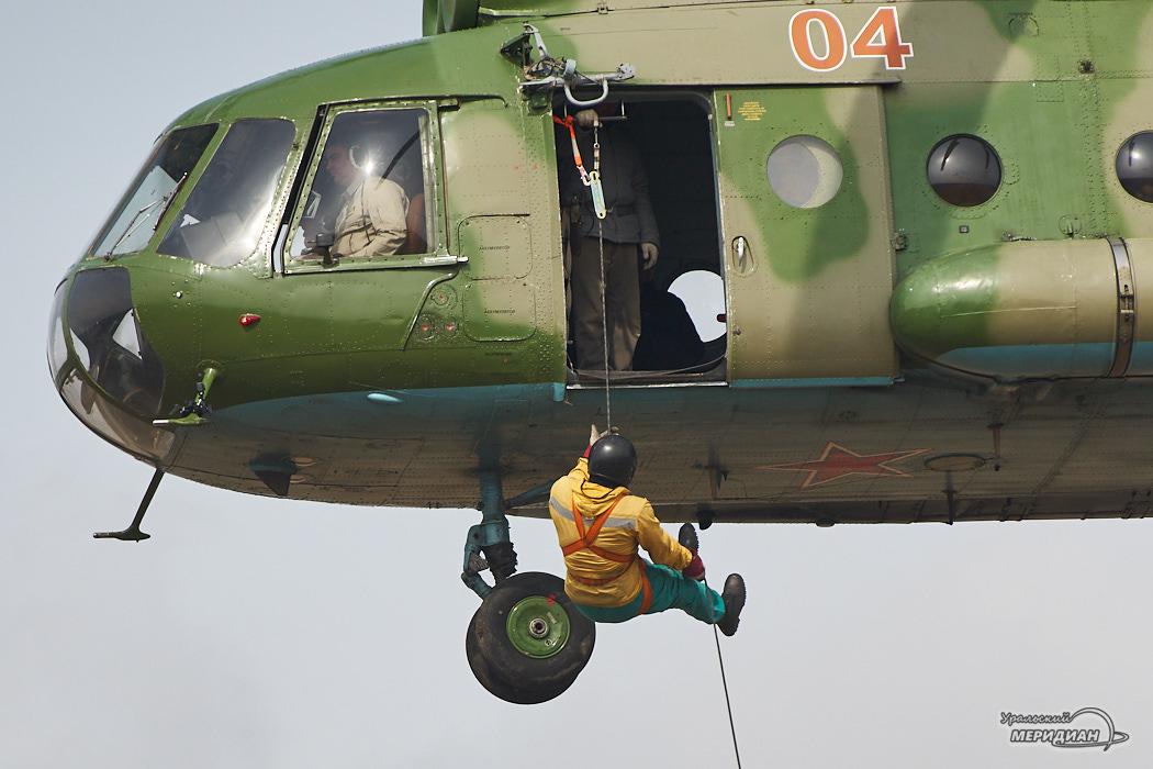 Уральская авиабаза проводит тренировки к началу пожароопасного сезона