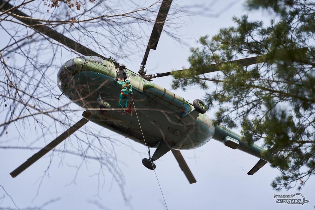 Уральский авиационный лесной спецназ: люди, сильные духом
