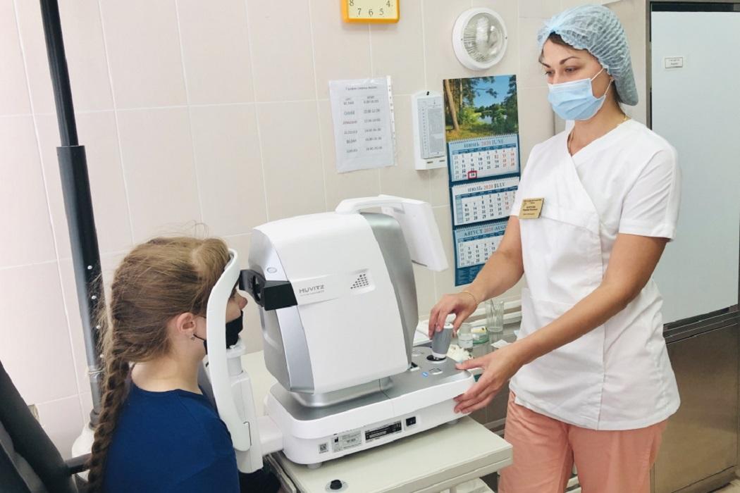 У детских офтальмологов Тобольска появилось новое оборудование