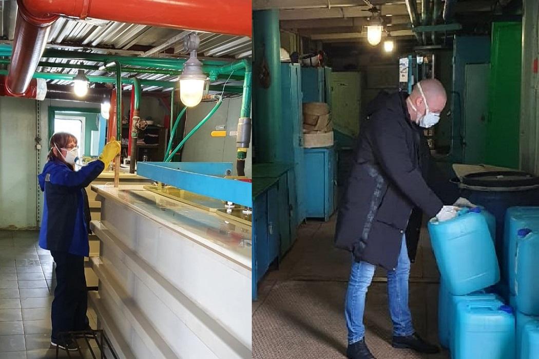 Управляющие компании Ноябрьска обеспечат дезинфицирующим средством 1