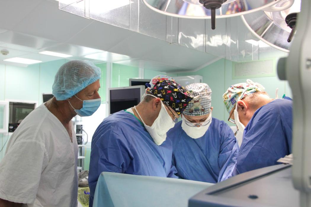 В Челябинске прооперировали ребенка без пищевода