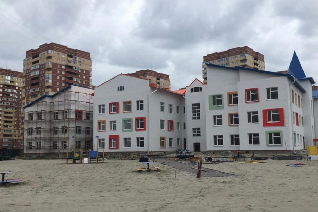 В Суходолье завершается строительство нового детского сада