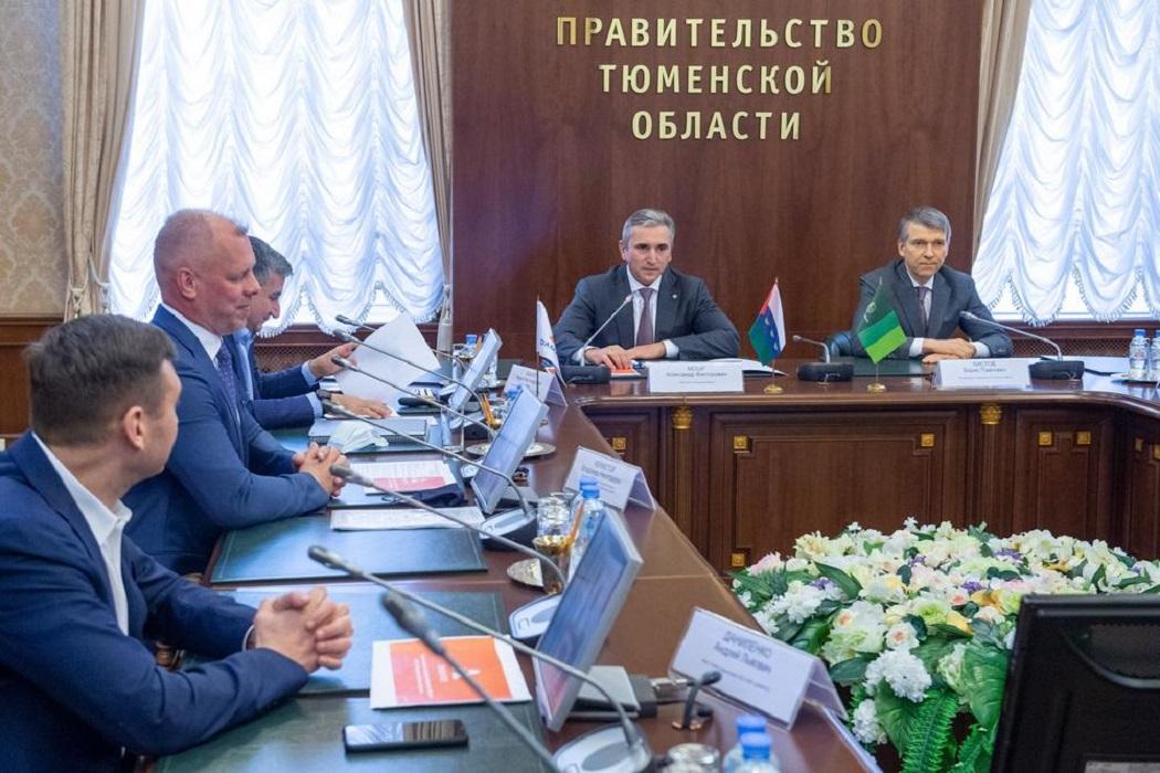 Правительство Тюменской области Александр Моор